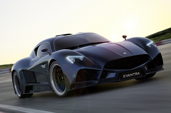 Серийный Mazzanti Evantra покажут на Top Marques