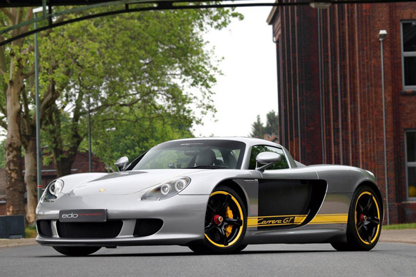 Porsche Carrera GT в тюнинге Edo Competition