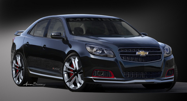 Chevrolet покажет Malibu Turbo Performance Concept